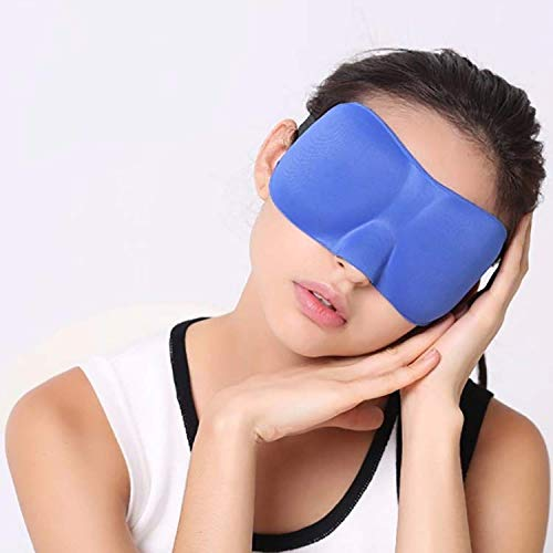 Serenily Super Smooth Sleep Mask, 3 Pack Lightweight Sleeping Mask, 3D Contoured Shape Blindfold Mask, Face Mask for Travel, Eye Mask for Sleeping with Adjustable Strap, Includes a Pair of Earplugs by Serenily (Image #5)