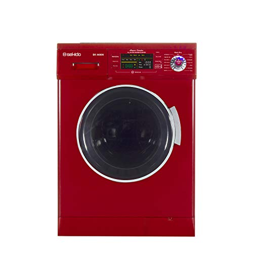 All-in-One Compact Combo Washer Dryer 1200RPM spin, Auto water level, Sensor, Dry Optional Venting/Condensing with FREE Delivery