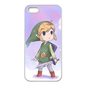 ZOEHOME Phone Case Of Ocarina of Time game boy ,Hard Case !Slim and Light weight and won't fade, Scratch proof and Water proof.Compatible with All Carriers Allows access to all buttons and ports. for ZOEHOME 5 5g 5s