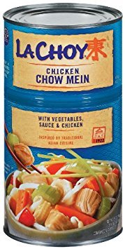 La Choy, Chicken Chow Mein with Vegetables, 42oz Can (Pack of 3)