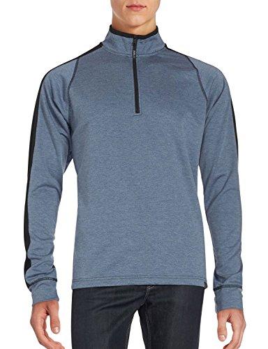 Blue 1/4 Zip Sweatshirt - 8