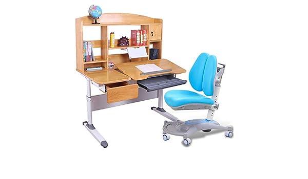Escritorio Para Niños Mesa de estudio de mesa de silla para niños ...