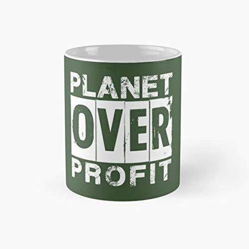 Sustainability Planet Go Green Over Profit 11 Oz Coffee ()