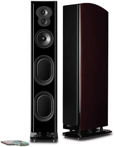 Polk Audio LSiM 707 Loudspeaker (Midnight Mahogany, Each)