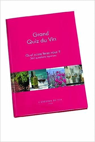 Read Grand Quiz du Vin epub pdf