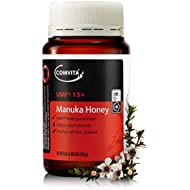 Comvita Certified UMF 15+ (Super Premium) Manuka Honey I New Zealand's #1 Manuka Brand I Non-GMO, Halal, and Kosher Certified I 250g (8.8oz)