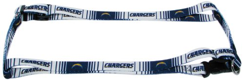 Hunter MFG 1-Inch San Diego Chargers Adjustable Harness Large