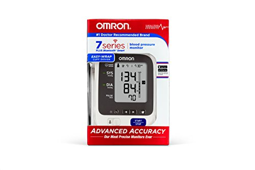 Omron Bluetooth Blood Pressure Monitor with Two User Mode with