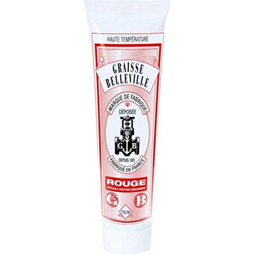 Tube de graisse graphité e haute tempé rature Etiquette Rouge 150gr GRAISSE BELLEVILLE