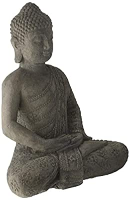 Repose ST10201488 Blossom Buddha Outdoor Statues
