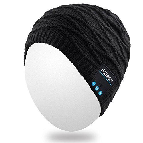 Qshell-Mens-Womens-Outdoor-Bluetooth-Music-Beanie-Hat-with-Stereo-Speaker-Headphones-Microphone-Hands-Free-and-Rechargeable-Battery-for-Cell-Phones-iPhone-iPad-Tablets-Android-Cellphones