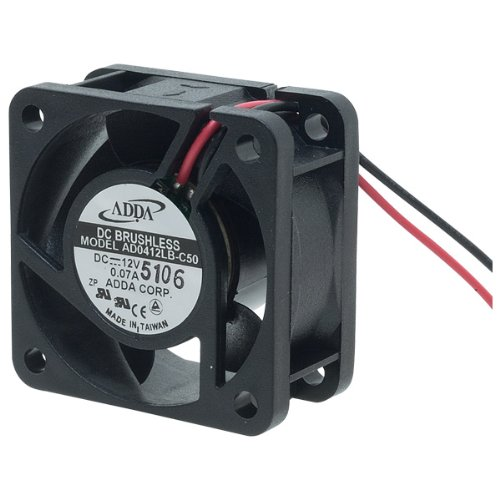 Professional Grade Products AD0424LB-C50 DC-FAN, Ball Bearing, Lead Wire, 24V, 6.99 CFM, 40 mm x 40 mm x 20 (40x40x20mm Ball Bearing)
