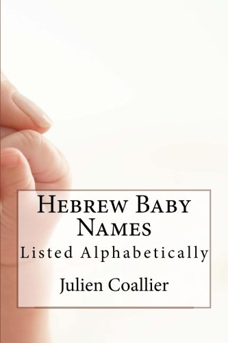 Hebrew Baby Names: Listed Alphabetically
