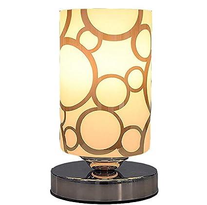 Lámpara De Vidrio Lampe Shade Lámpara De Hierro Bastidor del Marco De Escritorio Antideslizante Mesa De