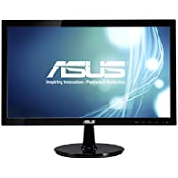 Asus VS208N-P 20 LED LCD Monitor - 16:9 - 5 ms - Adjustable Display Angle - 1600 x 900 - 16.7 Million Colors - 250 Nit - 50 000 000:1 - HD+ - DVI - VGA - 14 W - Black - EPEAT Gold