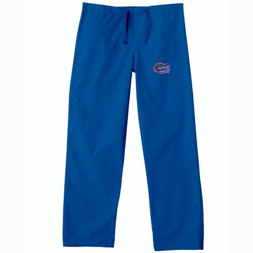 Florida Gators NCAA Classic Scrub Pant (Royal) (2X Large) by Gelscrubs