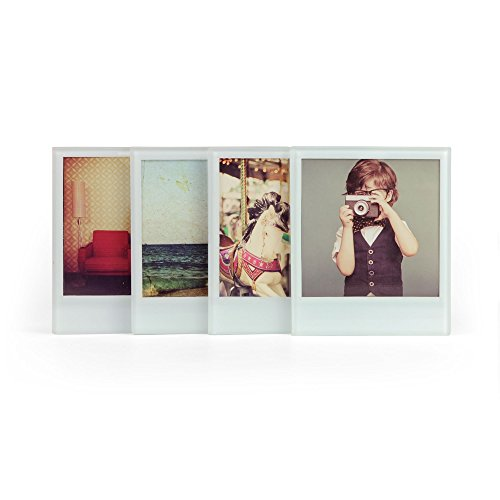 (Mustard Glass Coasters Set Personalize Your Drinks Mat - Instant Photo)