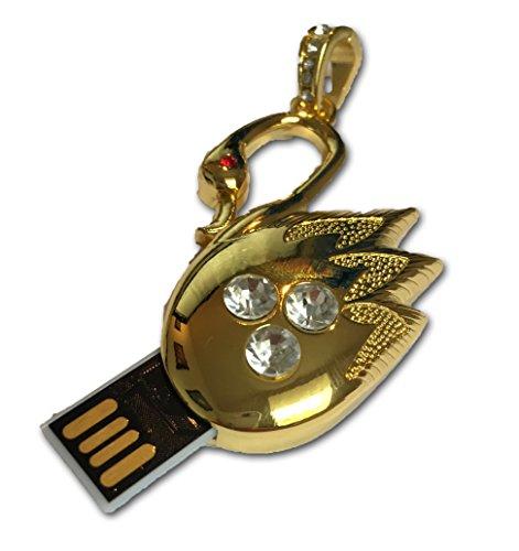 tomax-goldener-schwan-metal-as-usb-stick-64gb-usb-memory-stick-flash-drive