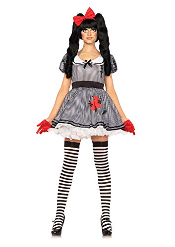 Costumes Scary Wind Up Doll - Leg Avenue Women's Wind-Me-Up Dolly Costume,
