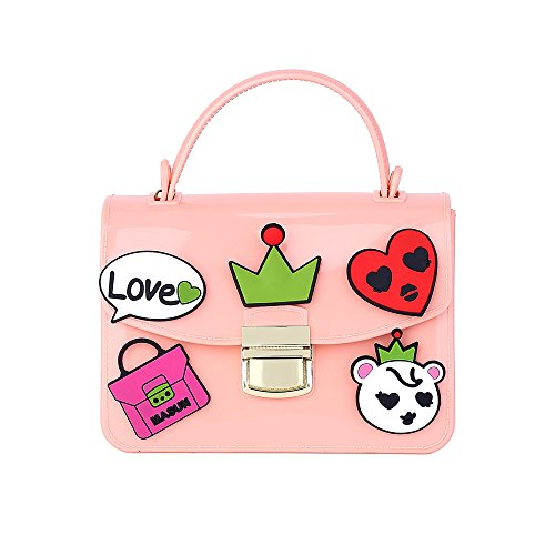 jelly purses pink - 6