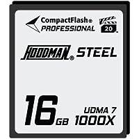 Hoodman Steel 16GB CompactFlash Card 1000X