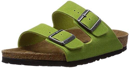 Birkenstock Sandals ''Arizona'' from Microfiber in Green 41.0 EU W