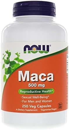 Now Foods Maca 500 mg - 250 Veg Capsules
