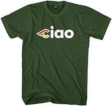 Cinelli - Camiseta Ciao Verde Talla M (Camisetas y Camisas ...