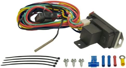 Adjustable Electric Cooling Fan Controller w// Wiring Harness 150-240 Degree