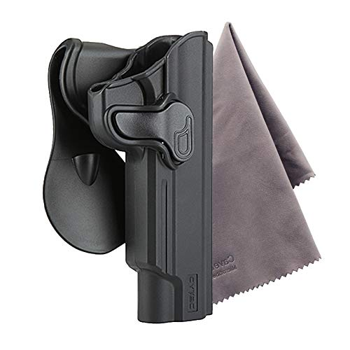 1911 5-Inch Paddle Holster with Trigger Release & Adjustable Cant