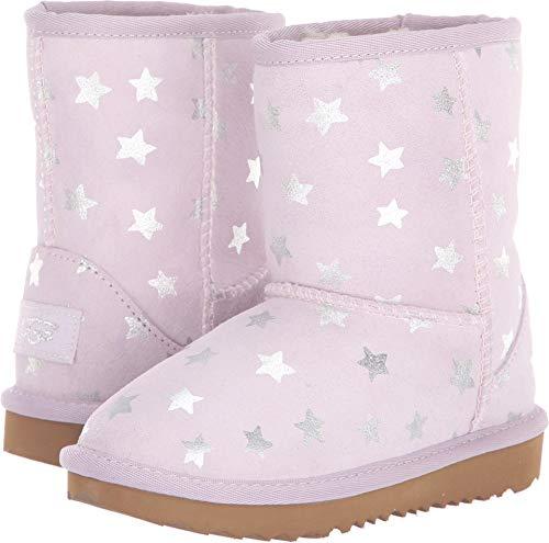 b7f75add104 UGG Girls' T Classic Short II Stars Fashion Boot,