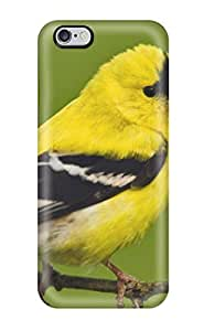 6 Plus Scratch-proof Protection Case Cover For Iphone/ Hot American Goldfinch Phone Case