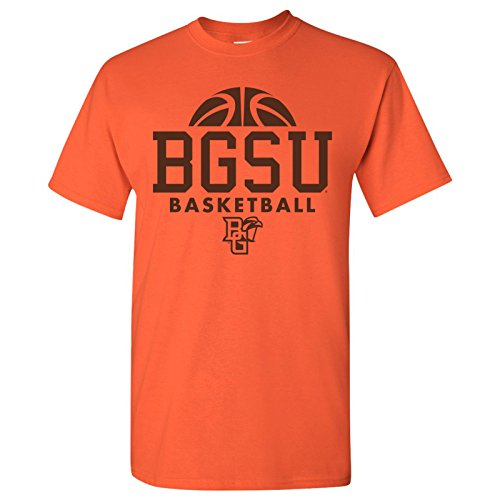 Bowling Green State University Falcons Basketball Hype Mens T-Shirt - 2X-Large - (Bowling Green University Basketball)