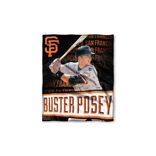 (The Northwest Co MLB 575 SF Giants Buster Posey Silk Touch Throw)