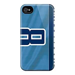 Iphone 4/4s Cover Case - Eco-friendly Packaging(tennessee Titans)