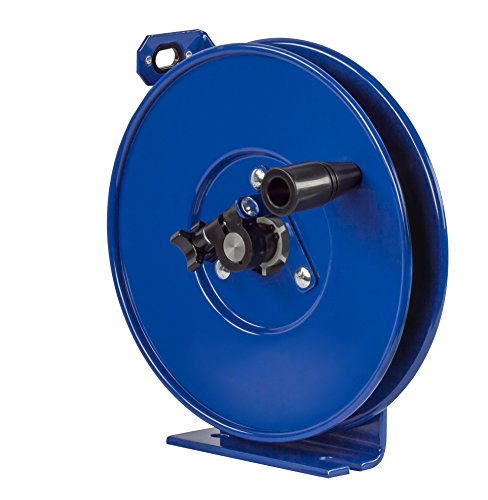 Coxreels SDHL-200 Static Discharge Hand Crank Cable Reel: 200' cable,Blue,3/32 Ø, less cable