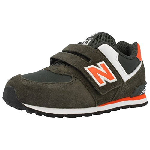 New Balance Kids Lifestyle 574 Boys, Cuir Lisse, Sneaker Low