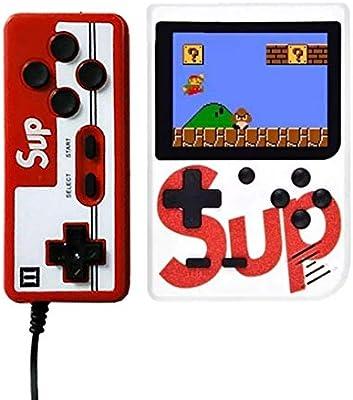 Amazon.es: Rabusion Consola de Juego de Mano Sup X Game Box 400 en ...