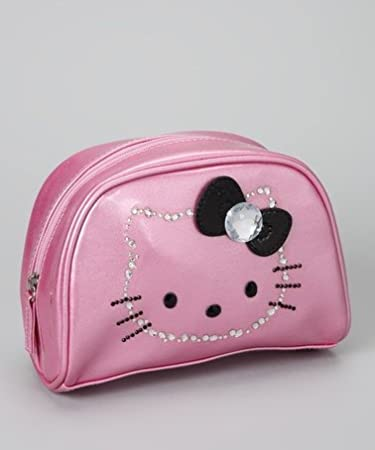 2a98bbe1f2 Amazon.com   Hello Kitty Makeup Bag   Beauty