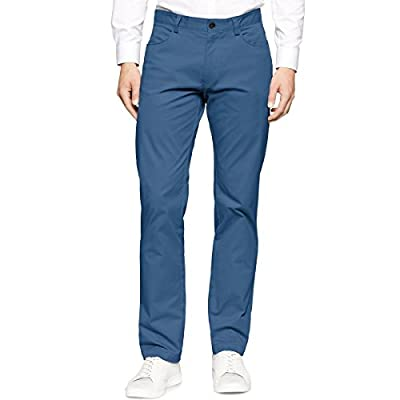 Calvin Klein Men's Slim Fit 4-Pocket Stretch Sateen Pant