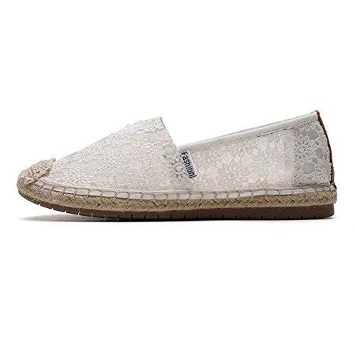 2302 HK2301 TIOSEBON White para Mujer Zapatillas 47ZUIZq