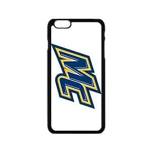 NCAA Merrimack Warriors Primary 2005 Black Phone Case for iPhone 6