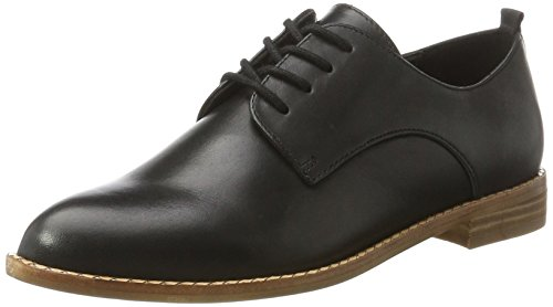 Noir ALDO 97 Black Leather Romanos Femme Oxfords qwFtR