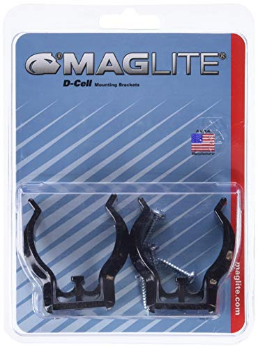 Mag Instrument MAGASXD026 D-Cell Maglite Mounting Brackets (1) ()