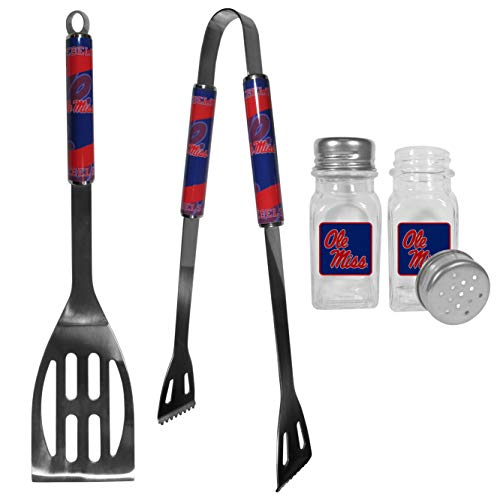 (NCAA Mississippi Ole Miss Rebels 2pc BBQ Set with Salt & Pepper)
