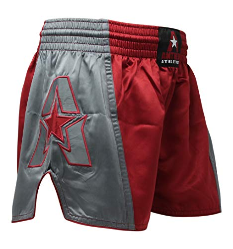 Anthem Athletics Infinity Muay Thai Shorts – Kickboxing, Thai Boxing – Oxblood – Large