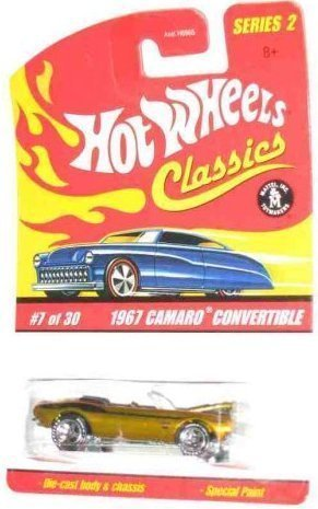 Classics Series 2  7 1967 Camaro Convertible Spectraflame Gold 1:64 Scale Collectible Die Cast Collector Car Mattel Hot Wheels by Hot Wheels