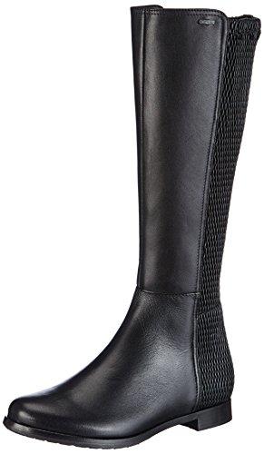 De 01000 Caño Shoe Högl Cuero Negro Schwarz Gmbh 01000 Botas Alto Fashion 8 101530 Mujer 8ww60q