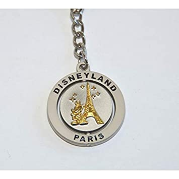 Amazon.com: Disneyland Paris Mickey Tour Eiffel Key Ring ...