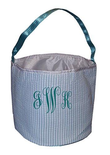 monogrammed easter basket - 8